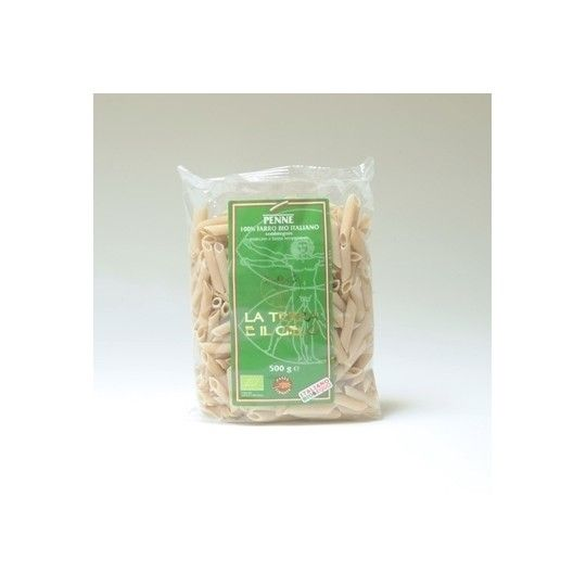 Organic Semi-Whole Emmer Penne Pasta 500gr