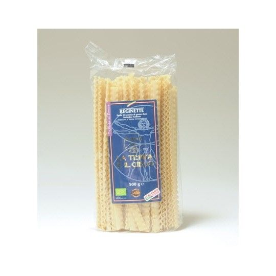 Organic Bronze-Extruded Semolina Reginette Pasta 500gr
