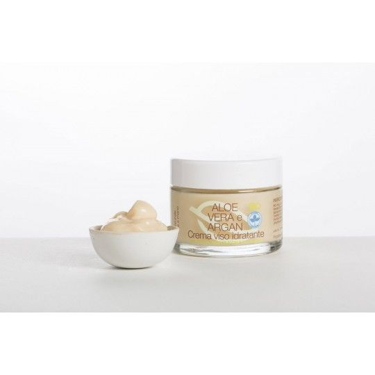 Aloe Vera & Argan Moisturizing Face Cream 50ml