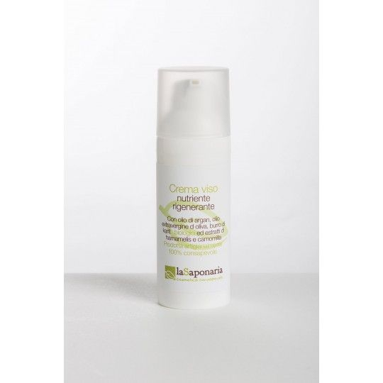 Nourishing Face Cream with Argan and Extra Virgin Olive Oil 50ml