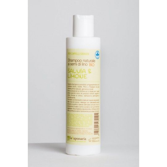 Shampoo Salvia Limone 200ml