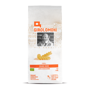 Fusilli Organic Durum Wheat Pasta 500g