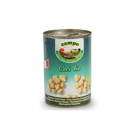 Organic Canned Chickpeas 400gr