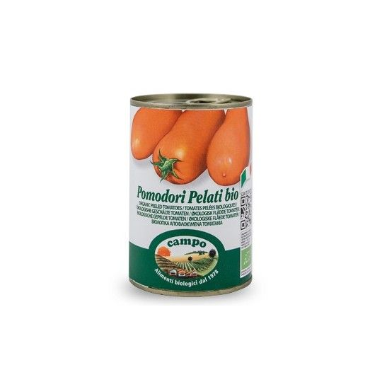 Organic Canned Peeled Tomatoes 400gr