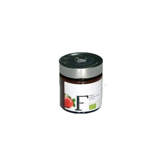 Organic Strawberry Spreadable Fruit 240gr