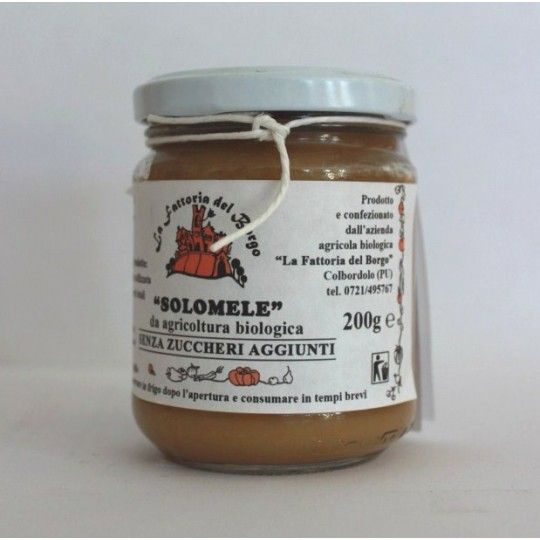 Organic Sugar Free Apple Jam 200gr