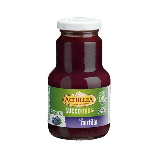 Succomio mirtillo bio 200ml