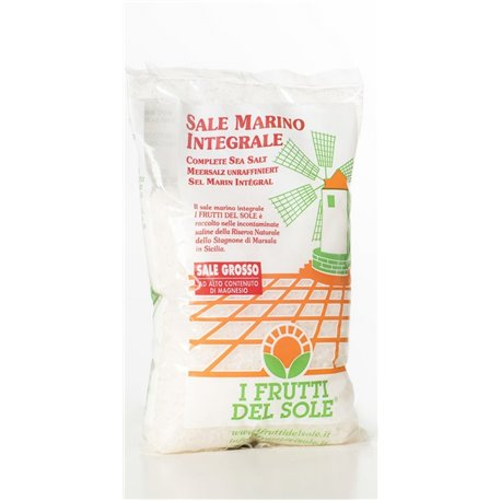 Sale marino integrale grosso 1kg