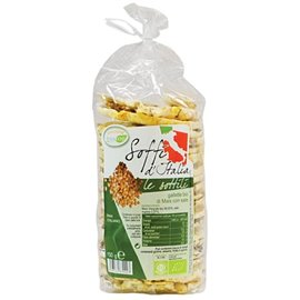 Gallette sottili 100% mais bio con sale 150gr