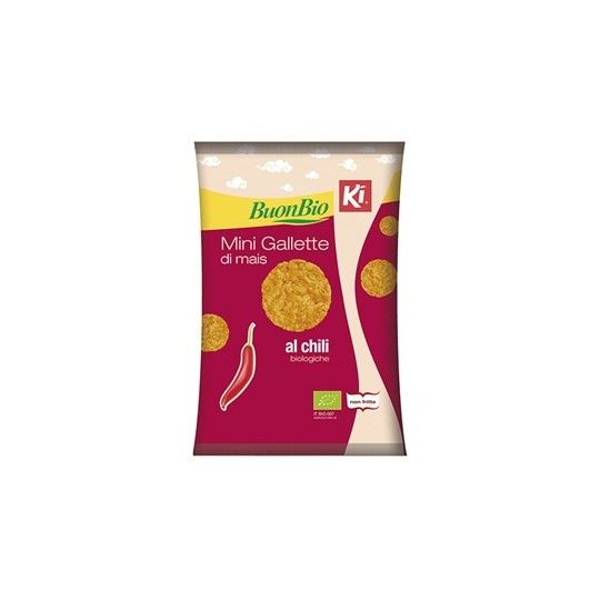 Minigallette mais chili bio 40gr