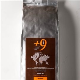 Caffe' +9 In Grani 50%Ara 50%Rob 1000gr