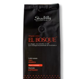 El Bosque Coffee, Ground Espresso, 250gr