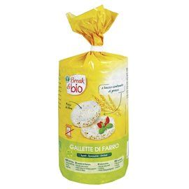 Gallette farro con sale bio 100gr