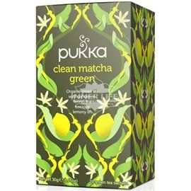Clean matcha green tea pukka bio 20filtri