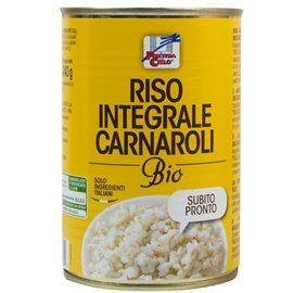 Riso integr carnaroli bio in latta 400gr