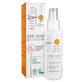 Crema solare spray spf 50 100ml