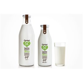 Latte fresco int bio 1000ml vetro