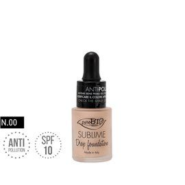 Drop foundation 00 sublime antipolution bio
