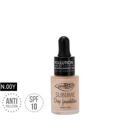 Drop foundation 00y sublime antipollution bio