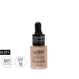 Drop foundation 02y sublime antipollution bio