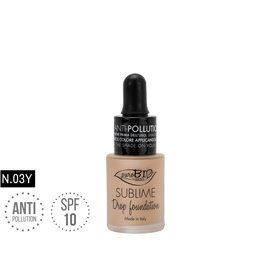 Drop foundation 03y sublime antipollution bio