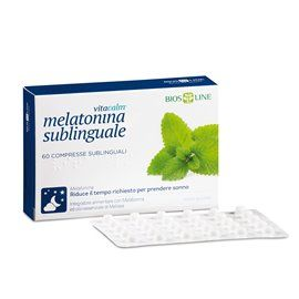 VitaCalm Melatonina sublinguale - 60 cpr