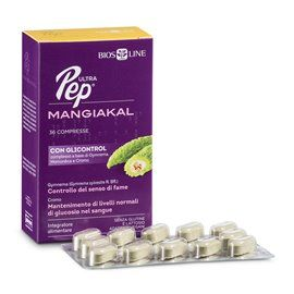 Ultra Pep - Mangiakal con Glicontrol - 36 cpr NEW