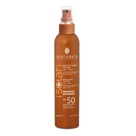 Nature's I Solari Spray FLUIDO SPF 50 200 ml