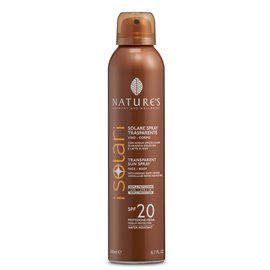 Nature's I Solari Spray TRASPARENTE SPF 20 200 ml