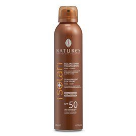 Nature's I Solari Spray TRASPARENTE SPF 50 200 ml