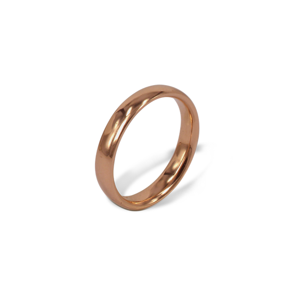 PURA Fede in oro rosso Ethical Gold Fairmined