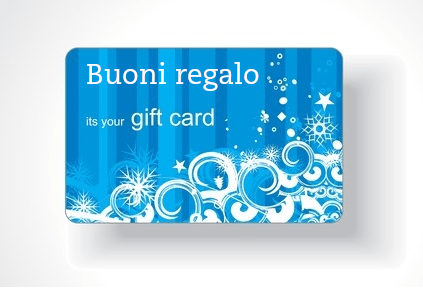 Gift cards buoni regalo