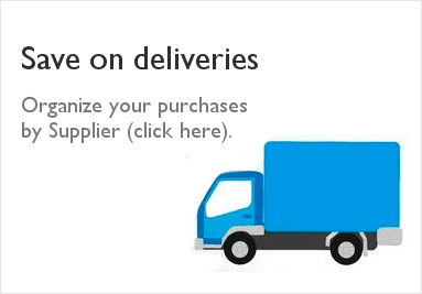 Save on deliveries